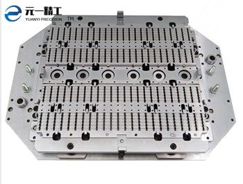 Semiconductor and integrated circuit gate runner mold (top)