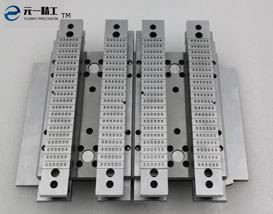 SOT553 runner for plastic die of semiconductor chip